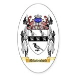 Nikoleishvili Sticker (Oval 50 pk)