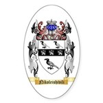 Nikoleishivili Sticker (Oval)