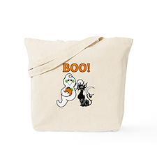 Halloween Ghost Friends Tote Bag