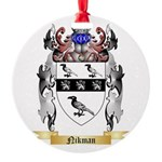 Nikman Round Ornament