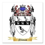 Nikman Square Car Magnet 3