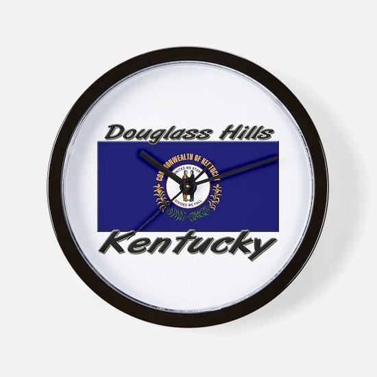 Douglass Hills Kentucky Wall Clock