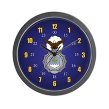 USAF Security Forces Wall Clock