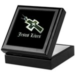 Jesus Lives (resized) Keepsake Box