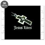 Jesus Lives (resized) Puzzle