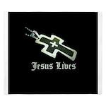 Jesus Lives (resized) King Duvet