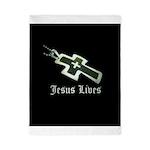 Jesus Lives (resized) Twin Duvet