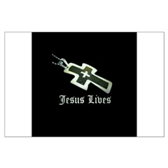 Jesus Lives (resized) Posters