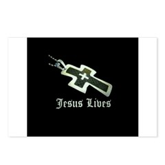 Jesus Lives (resized) Postcards (Package of 8)