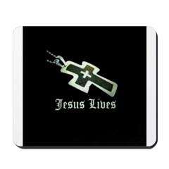 Jesus Lives (resized) Mousepad