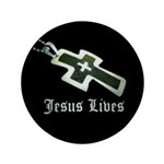 Jesus Lives (resized) Button