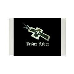 Jesus Lives (resized) Magnets
