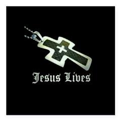 Jesus Lives (resized) Square Car Magnet 3