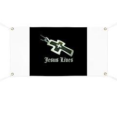 Jesus Lives (resized) Banner