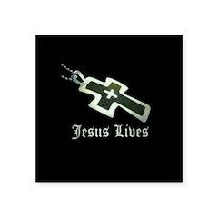Jesus Lives (resized) Sticker
