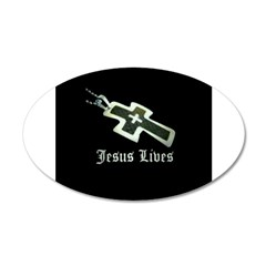 Jesus Lives (resized) Wall Decal