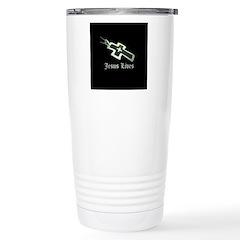 Jesus Lives (resized) Travel Mug