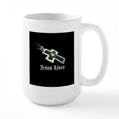 Jesus Lives (resized) Mugs