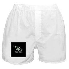 Jesus Lives (resized) Boxer Shorts