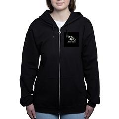 Jesus Lives (resized) Women's Zip Hoodie