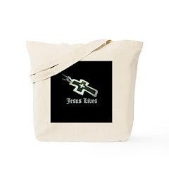 Jesus Lives (resized) Tote Bag