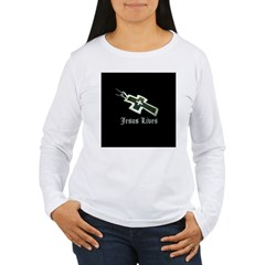 Jesus Lives (resized) Long Sleeve T-Shirt