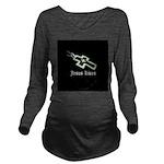 Jesus Lives (resized) Long Sleeve Maternity T-Shir