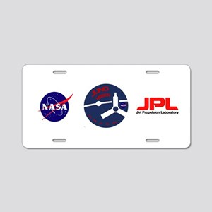 Juno: Mission Patch Aluminum License Plate