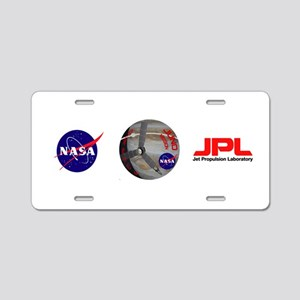 Juno: Program Patch Aluminum License Plate