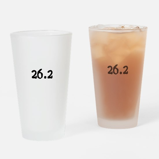 Cute 26.2 Drinking Glass