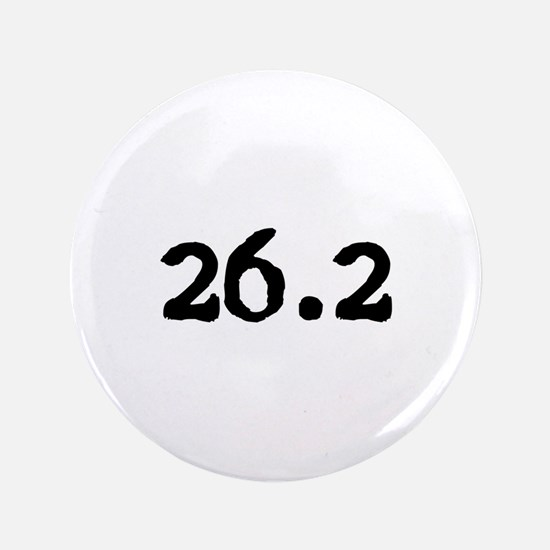 "Cute 26.2 3.5"" Button (100 pack)"
