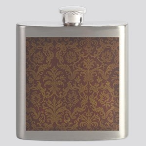 ROYAL RED AND GOLD Flask