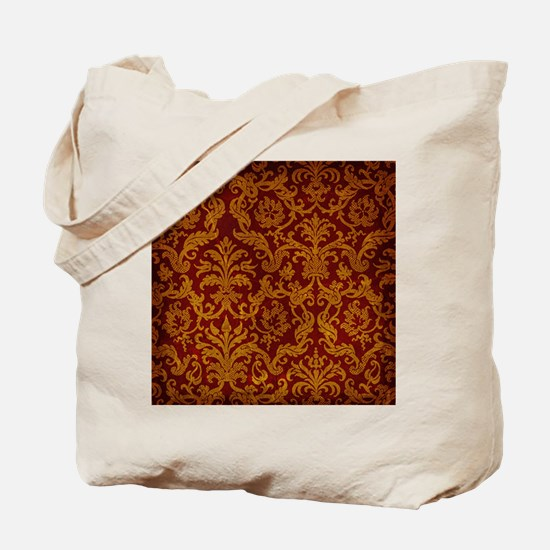 ROYAL RED AND GOLD Tote Bag