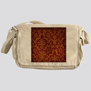 ROYAL RED AND GOLD Messenger Bag