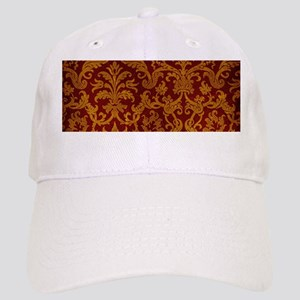 cd595f0eabd Royal Red And Gold Everyday Pillow1712109819 Hats - CafePress