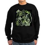 Green 420 Graffiti Collage Sweatshirt