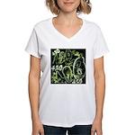 Green 420 Graffiti Collage T-Shirt