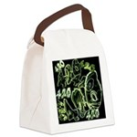 Green 420 Graffiti Collage Canvas Lunch Bag