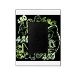 Green 420 Graffiti Collage Picture Frame