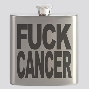 Fuck Cancer Flask