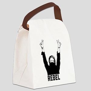 Rebel Girl Canvas Lunch Bag