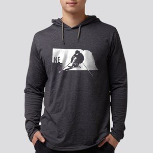 Ski Nebraska Long Sleeve T-Shirt