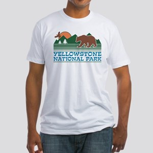 Yellowstone National Park Fitted T-Shirt