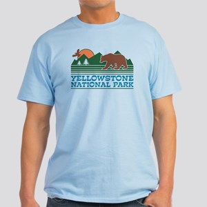 Yellowstone National Park Light T-Shirt