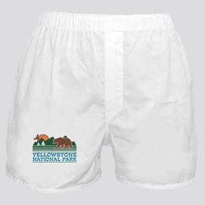 Yellowstone National Park Boxer Shorts