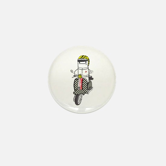 Lambretta Mini Button
