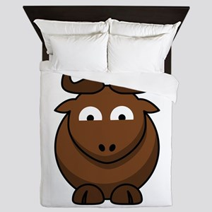 Cartoon Gnu Glee Queen Duvet