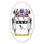 Niklaus Sticker (Oval 50 pk)