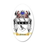 Niklaus 20x12 Oval Wall Decal
