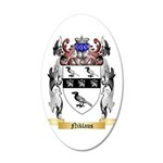 Niklaus 35x21 Oval Wall Decal